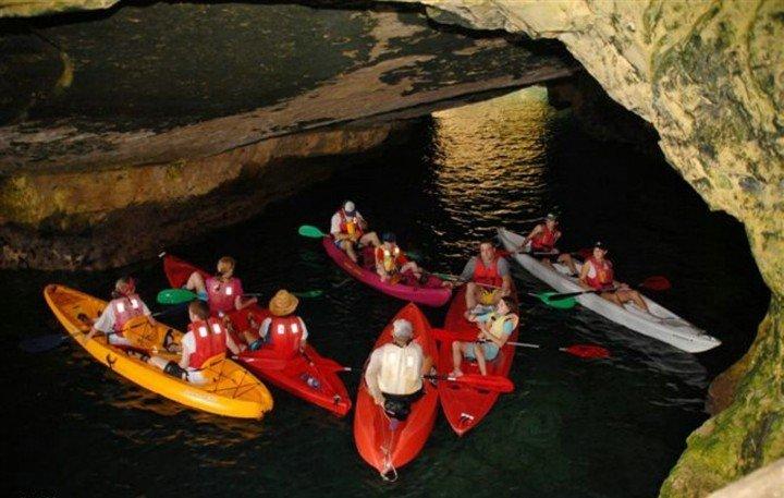 Kayaking from Nazareth