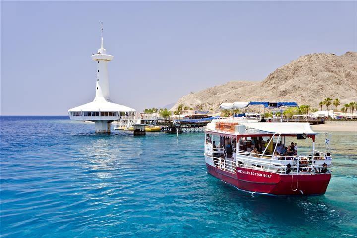 Glass bottom Boat Sailing Eilat
