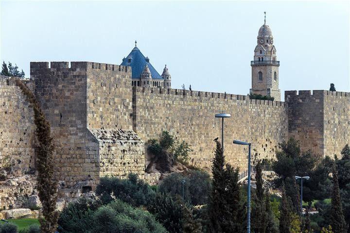 Jerusalem from Eilat with flight back