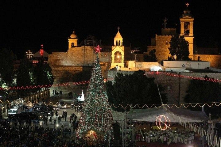 Christmas Eve in Jerusalem & midnight…