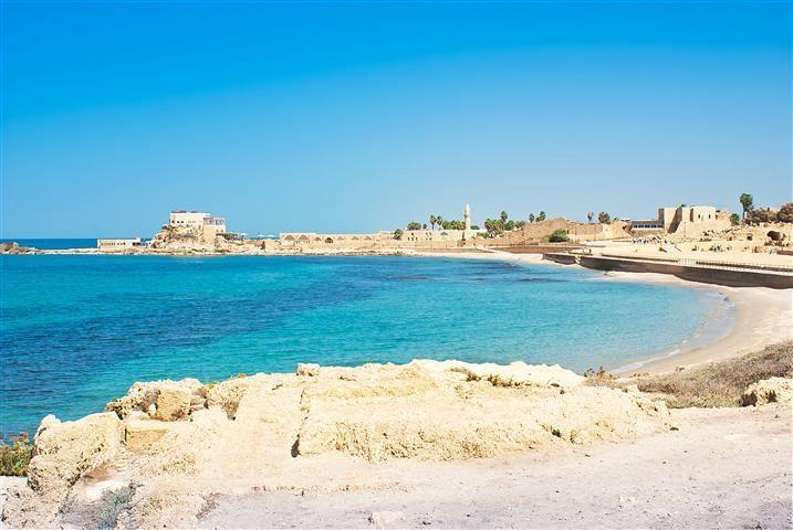 Caesarea, Acre and Haifa